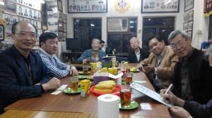 2014年接待盧顯軍及盧奕坤宗長