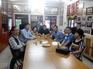 2015年接待北京盧真會長
