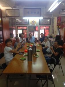 2015年接待河南盧林宗親